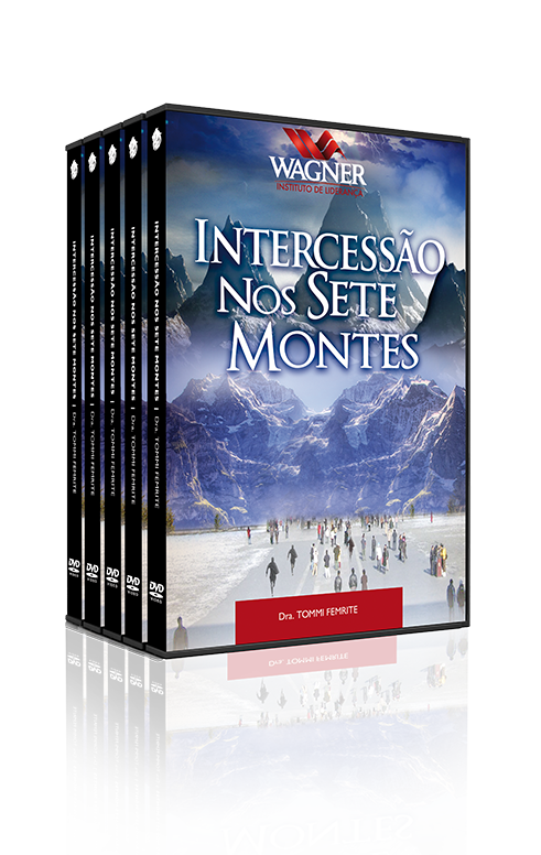 Intercessão nos Sete Montes, 04 Dvds