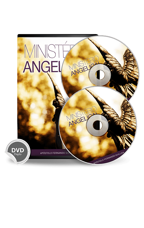 Ministério Angelical, 02 Dvds