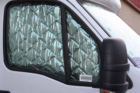 SolarScreen installed in an Iveco Daily