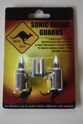 Sonic Animal Repeller (Chrome)