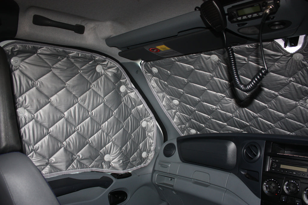 Solarscreen 2 rear seat windows behind driver