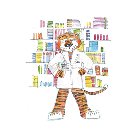Pharmacist Aubie
