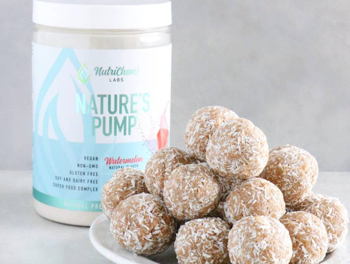 Watermelon-Coconut Energy Bites