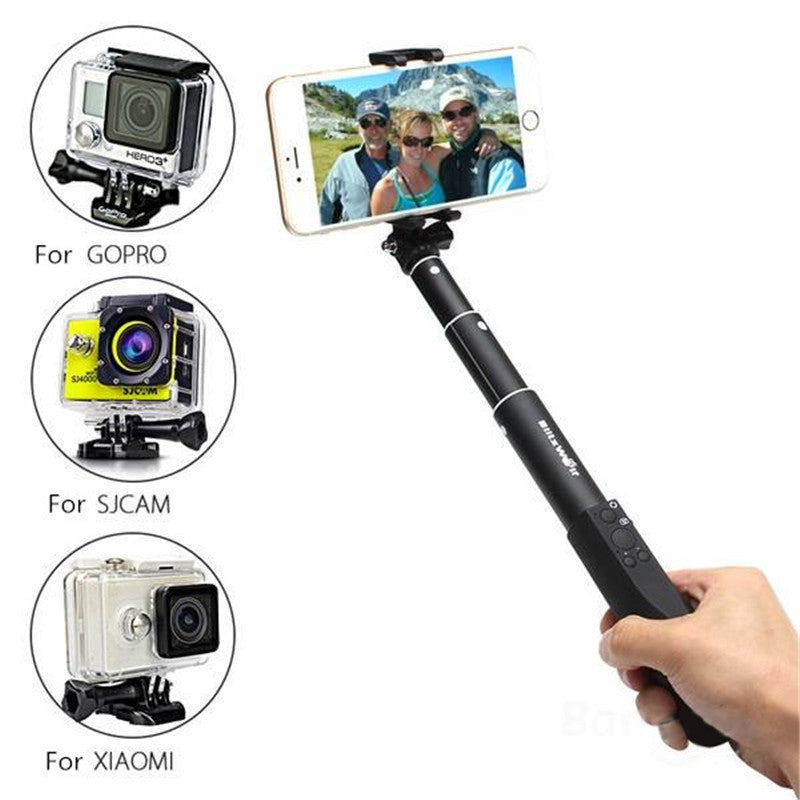 Extendable Bluetooth Selfie Stick for Smartphone or GoPro