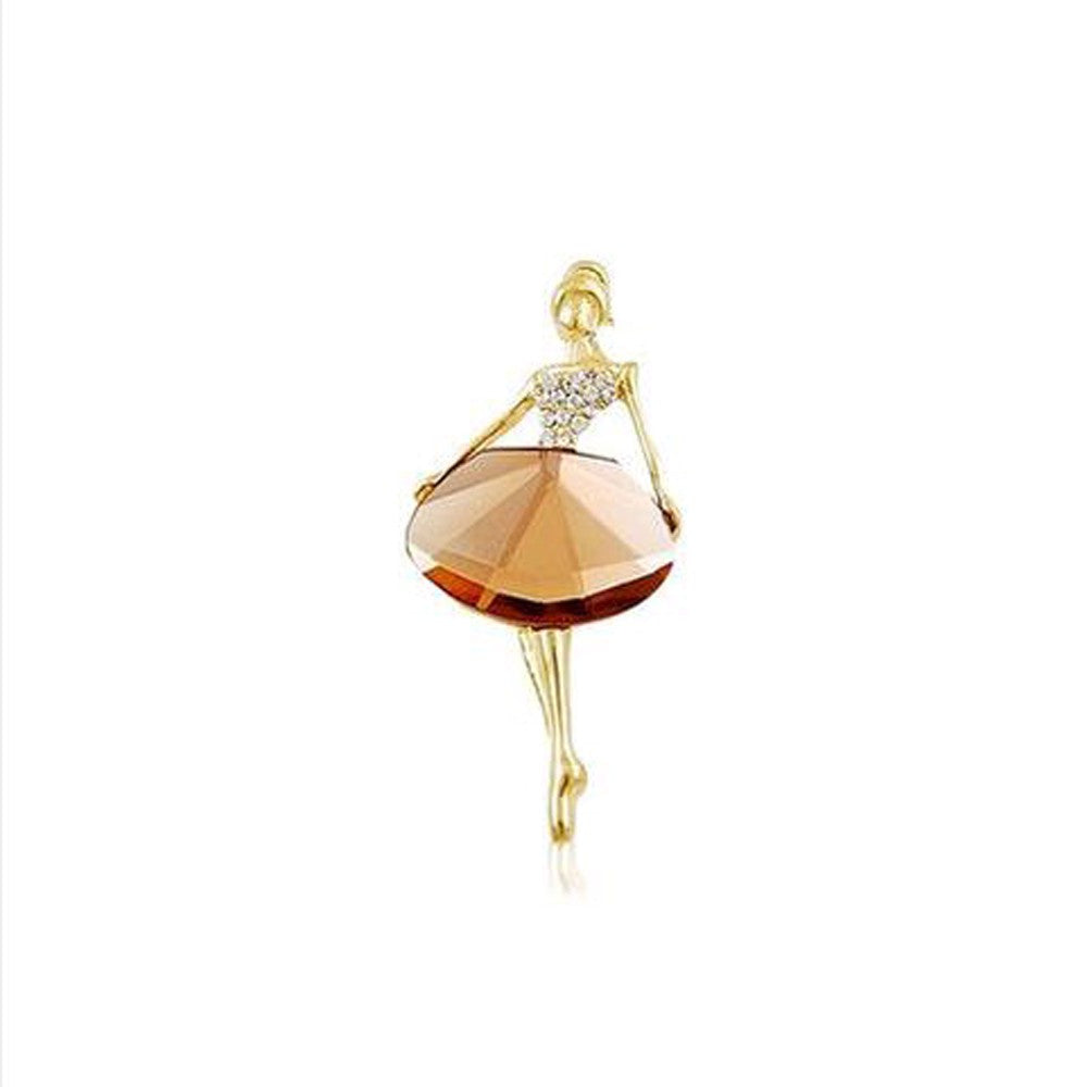 Luxury Ballerina brooch