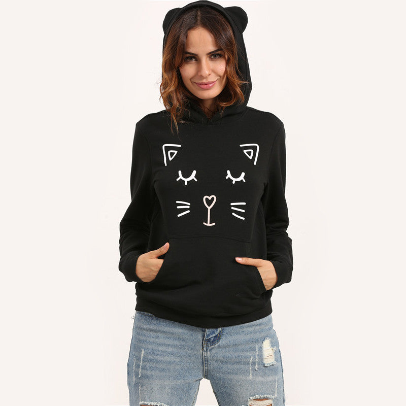 Sexy Cat Hoodie