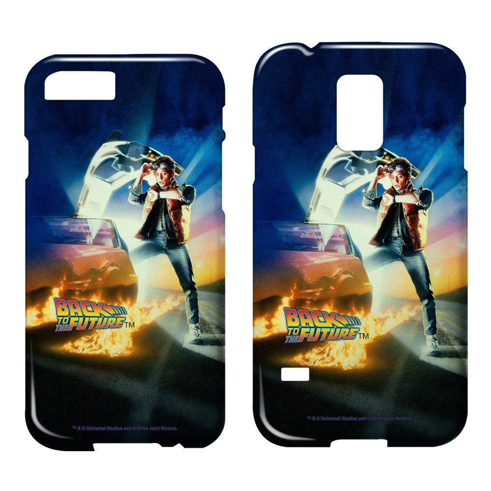 BACK TO THE FUTURE/BTTF POSTER - SMARTPHONE CASE