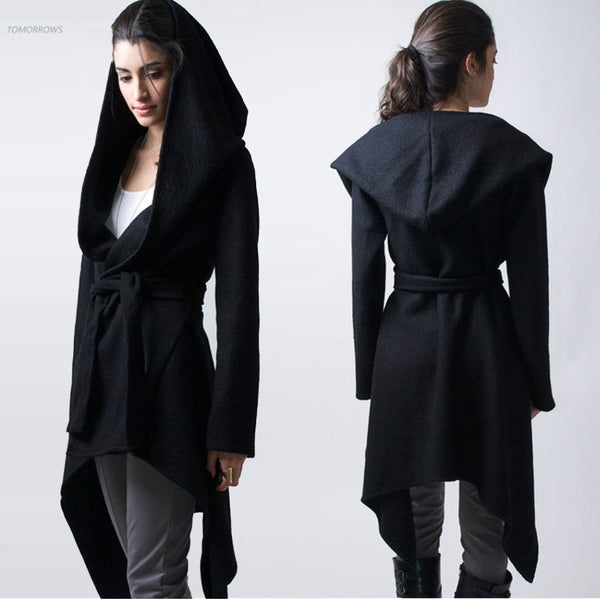 Casual Hooded Cardigan