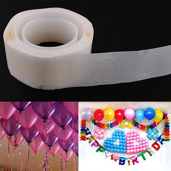 100pcs/lot Removable Balloon Attachment Glue Dot