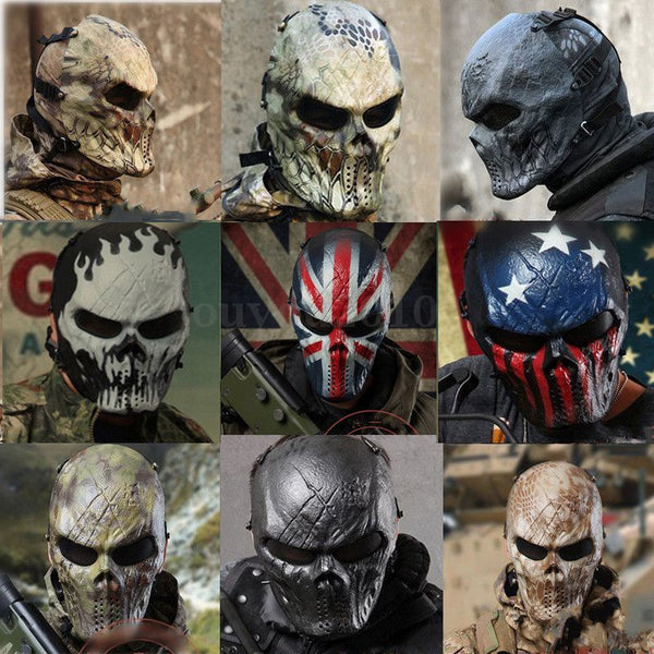 Super Outdoor Military Paintball Airsoft Mask