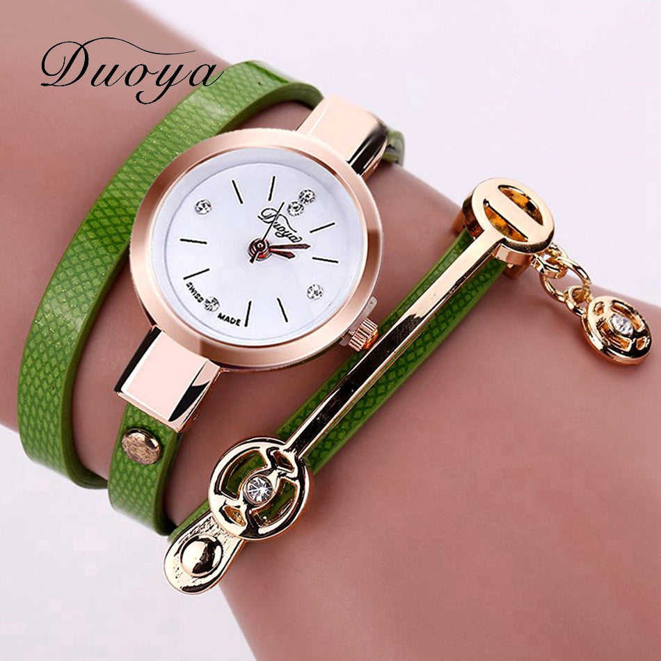 Duoya Fashion Ladies Bracelet Watch