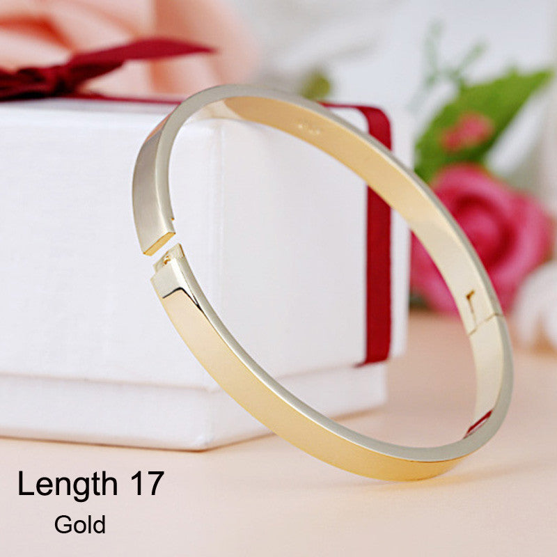 Luxury Stainless Steel Cuff Bracelets