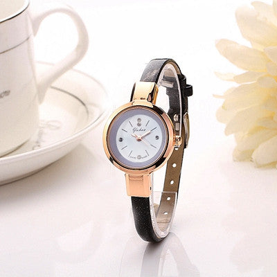 Women's Fashion Gold Watch Bracelet