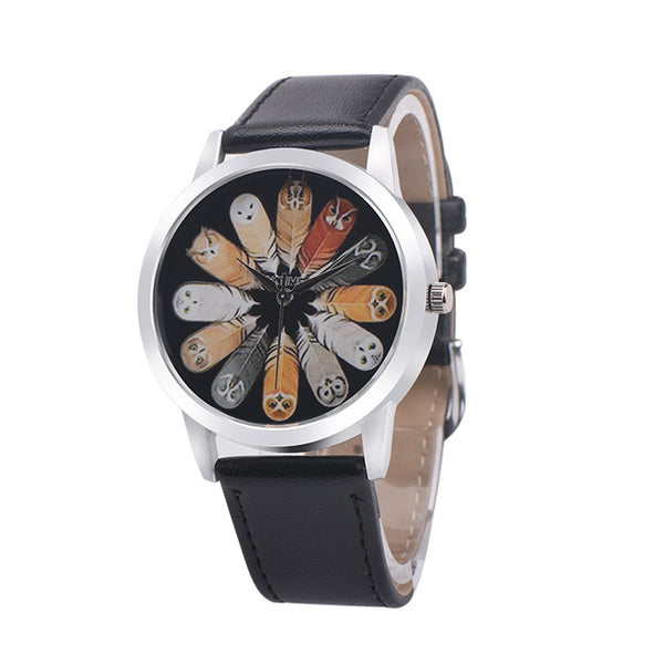 Cute Owls Ladies Dress Watch