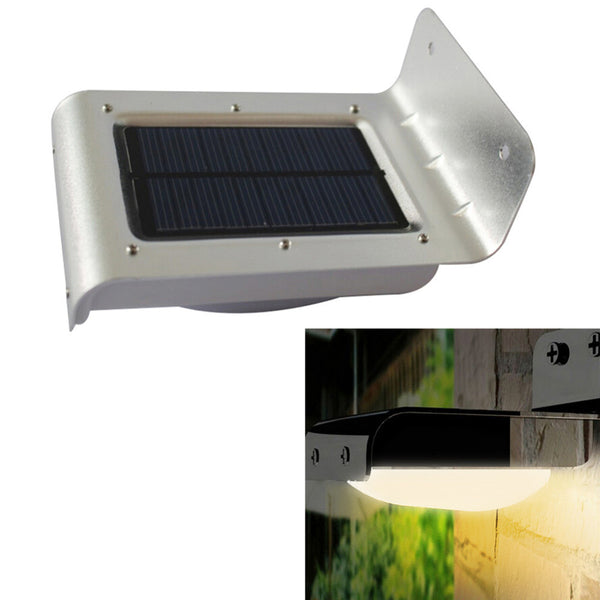 16 LED Solar Power Garden Security Lamp
