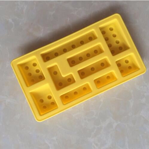 Brick Blocks Shaped Silicone Ice Mold