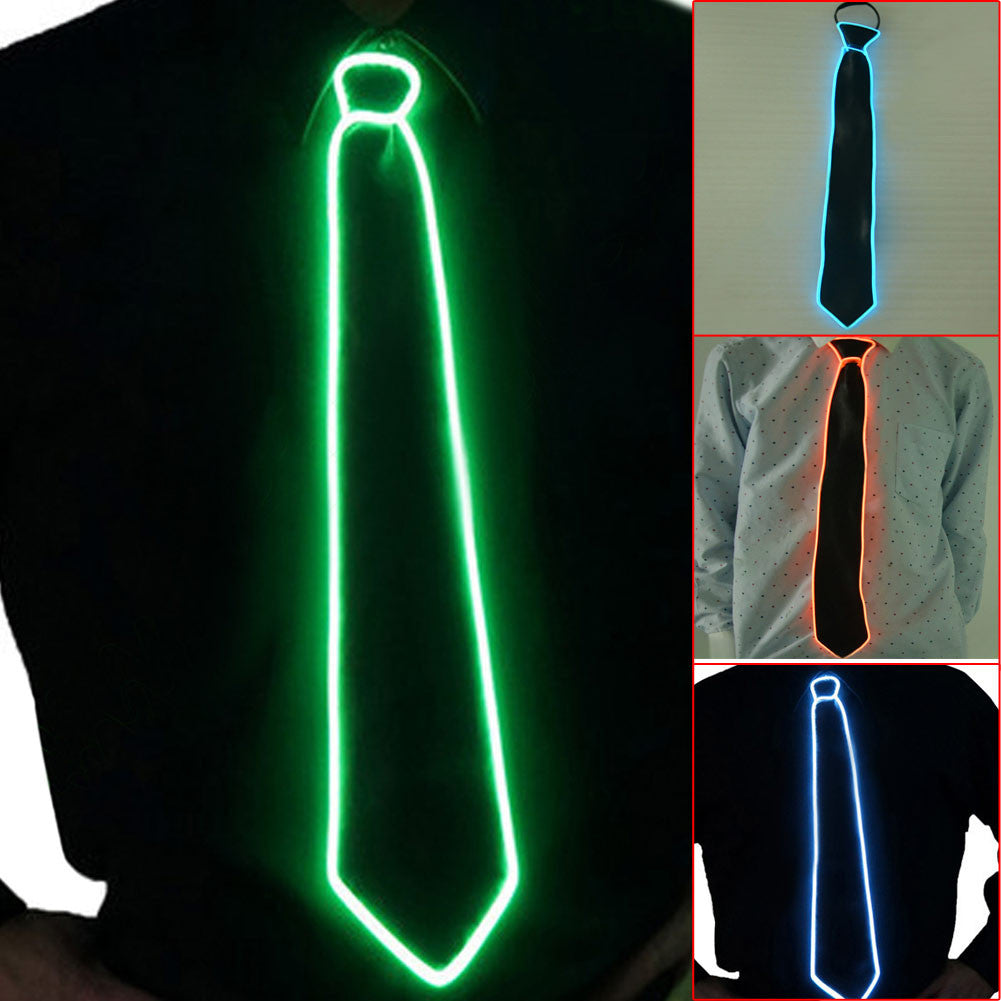 LED Lighted Neck Tie