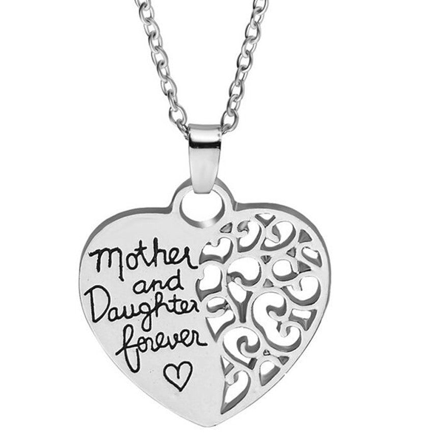 Mother and Daughter forever Pendant