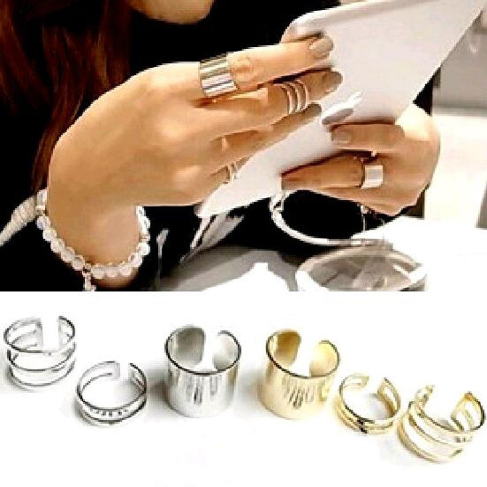 Women's Fashion Jewelry Ring 3Pcs. / Set.