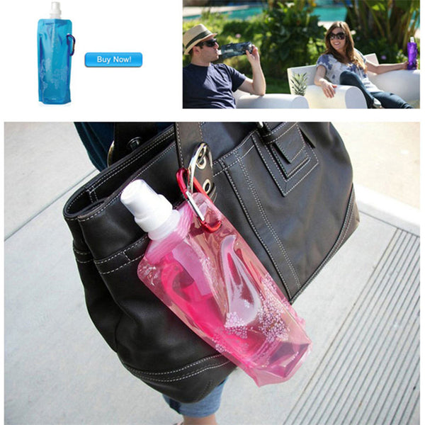 Folding Water Bottle 500ml