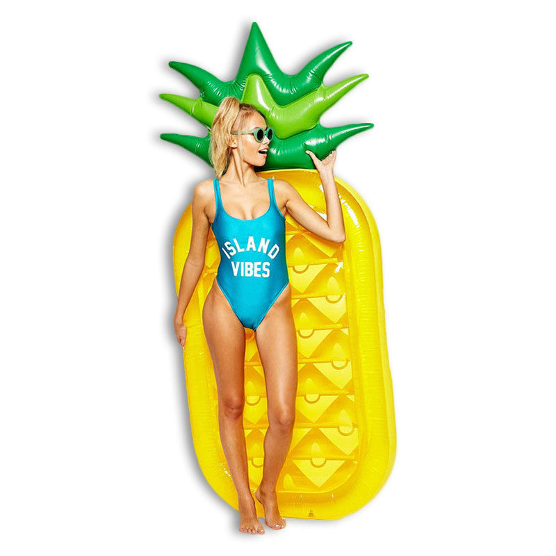 Giant Pineapple PVC Inflatable Swimming Float