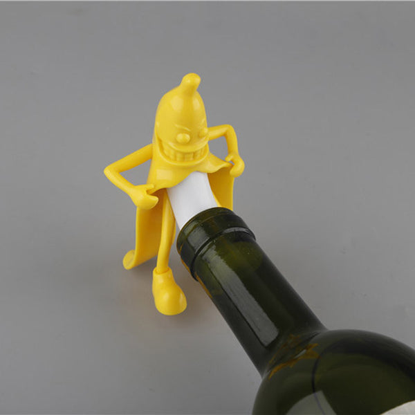Mr.Banana Bottle Stopper