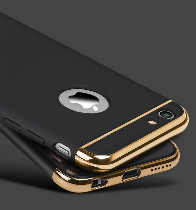 Luxury Case Back Armor for Apple iphone 7- 6s- 6- Plus- 5s- 5