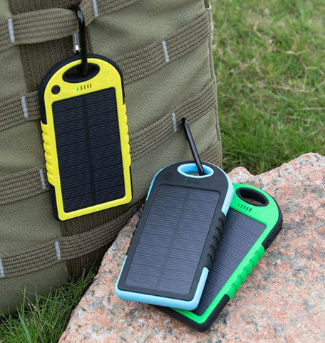 Portable Waterproof Solar USB Power Charger