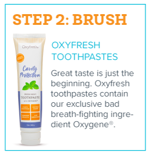 Fresh Breath in 3 Steps - Step 2 - Bamboo Eco-Friendly Toothbrush