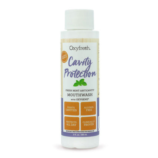 cavity prevention mouthwash with fluoride