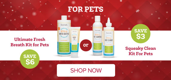 Oxyfresh Kits for Pets Get Rid of Dog Breath and Keep Their Coats Clean