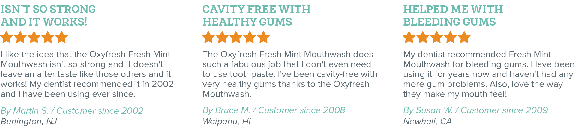 Oxyfresh - Eliminate Bad Breath - Fresh Breath Fresh Mint Mouthwash Reviews