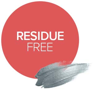residue free no soap scum shower gel