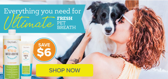 Oxyfresh - Get rid of bad pet breath easily at home