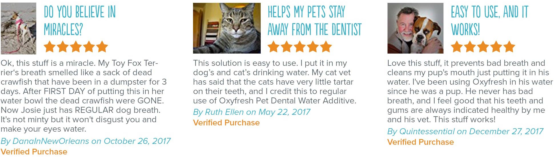 Oxyfresh - Eliminate Pet Breath - Pet Water Additive Reviews
