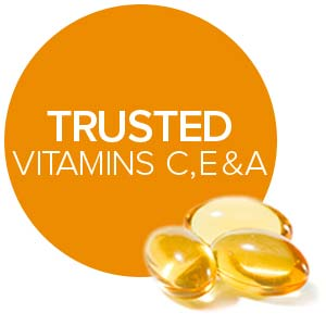 powerful antioxidants vitamins a c e for sensitive skin