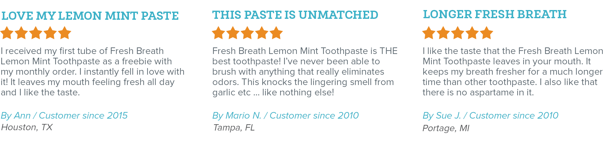 Oxyfresh - Eliminate Bad Breath - Fresh Breath Lemon-Mint Toothpaste Reviews