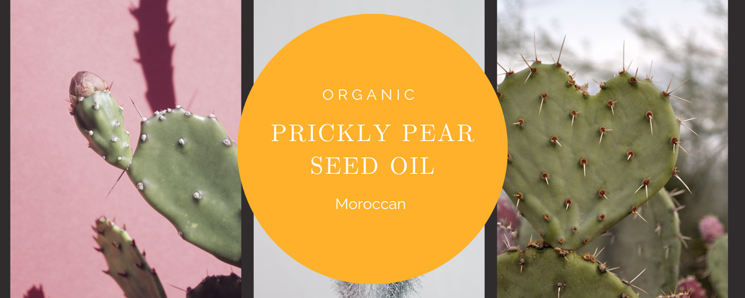 100% Pure Moroccan Organic Prickly Pear Seed Oil