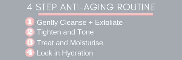 4 step anti-aging Routine