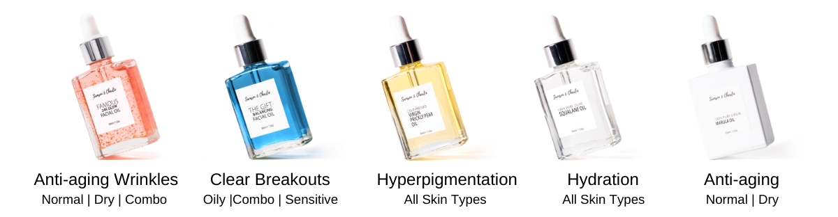 which facial oil is perfect for you ?
