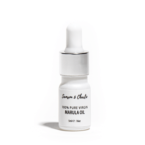 Samson & Charlie Face Oil 100% Virgin Organic Marula Oil Travel Size