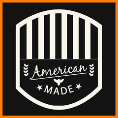 American Made d'143 Men's Clothing Badge