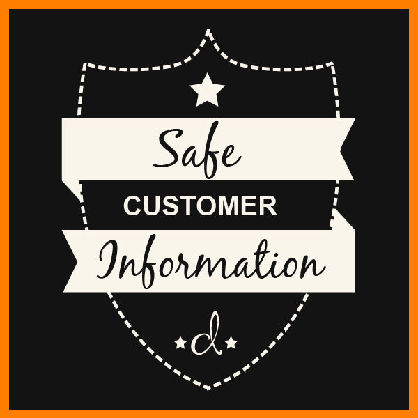 Safe Customer Information - d'143 Men's Clothing