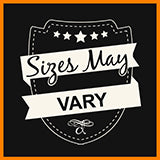 Sizes May Vary Badge - d'143 Men's Clothing