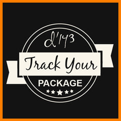 Track Your Package d'143 Men's Clothing Badge
