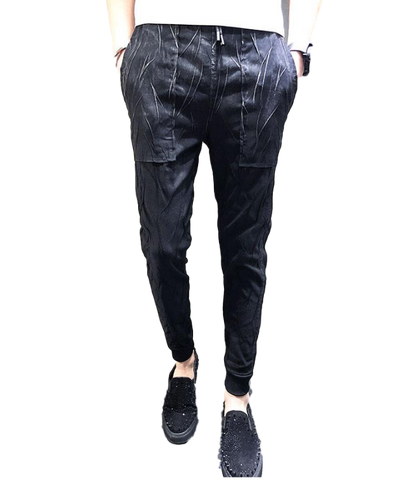 Slim Fit Trousers for Men - d'143 Men's Clothing