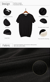 Knitted Slim Fit Casual Short Sleeve T-Shirt for Men - d'143 Men's Clothing
