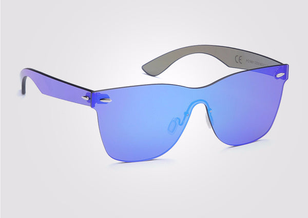 Vintage Rimless 20/20 UV400 Polarized Sunglasses - d'143 Men's Clothing