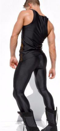 elastic ankle length trouser leggings - d'143 Men's Clothing