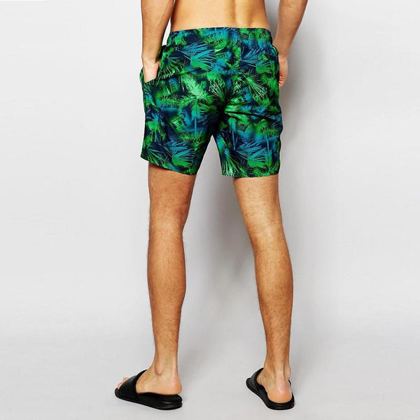 Retro Summer Bathing-Suit Board-Shorts - d'143 Men's Clothing